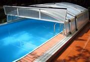 Павильоны для бассейнов.Деревянные бочки для купания